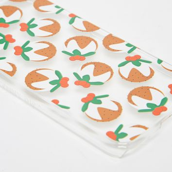 Skinnydip Christmas Pudding iPhone 6 Case