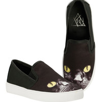 Cat Slip-On Shoes