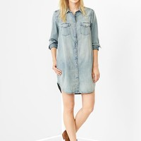 Gap Women 1969 Western Denim Shirtdress