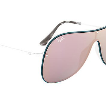 Ray-Ban RB4311N Blue,White White, Grey Lenses | Ray-Ban® USA