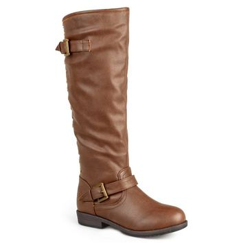 Brinley Co Women's Durango WC Riding Boot, Brown, 7 M US