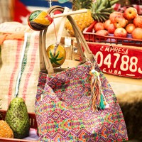 Mar de Rosas Boho Beach Bag - Mar Turistico