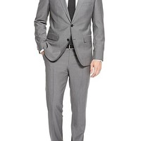 'The James/Sharp' | Regular Fit, Super 120 Italian Virgin Wool Suit by BOSS