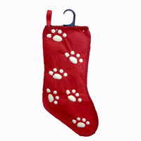 Christmas Red Pet Stocking Christmas Decor