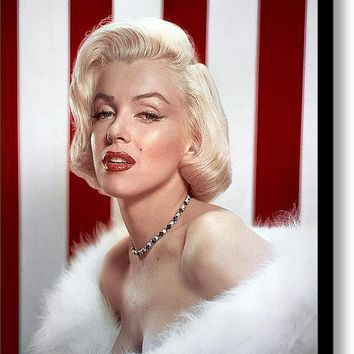 Limited Time Promotion: Marilyn Monroe Stretched Canvas Print