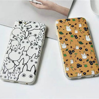 On Sale Cute Hot Deal Hot Sale Stylish Iphone 6/6s Cartoons Silicone Anti-skid Phone Case [4915506500]