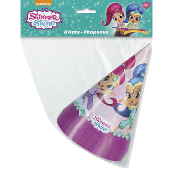 Shimmer and Shine Party Hats [8 per Pack]