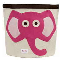 3 Sprouts Toy Bin - Pink