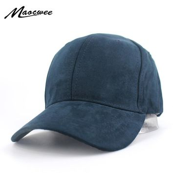 Trendy Winter Jacket Plain Suede Baseball Caps Casual Dad Hat Snapback Outdoor Blank Sport Solid Color Cap and Trucker Hat for Men and Women Bone AT_92_12
