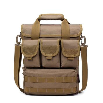 Sports gym bag Men Outdoor Tactical Bag Oxford Molle Messenger Bags Military Camouflage Crossbody Shoulder Bags Sports Toolkit Handbag XA158WA KO_5_1