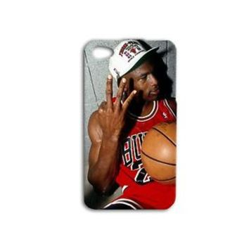 Michael Jordan Chicago Bulls Phone Case iPhone 4 4s 5 5s 5c 6 6s Plus Cute Cover