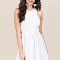 Chelsie Lace A-Line Dress