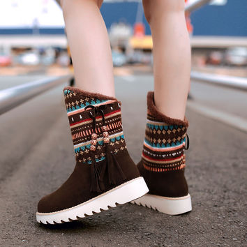 Platform Winter Shoes
