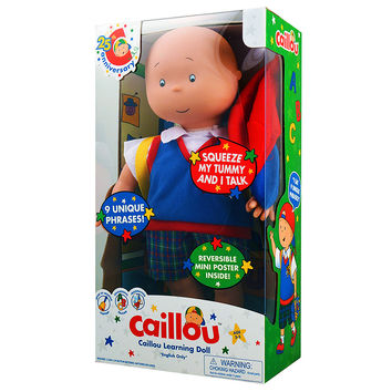 Caillou Learning Doll [English]