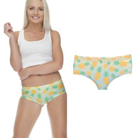 Pineapple Ombre 3D Image Panties