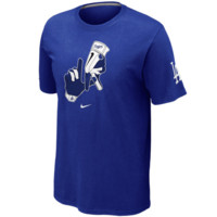 L.A. Dodgers Nike Local T-Shirt – Royal Blue
