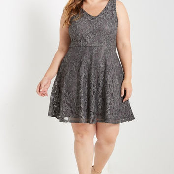 Dawson Fit and Flare Dress Plus Size