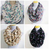 Aliexpress.com : Buy 2015 New Fashion Cross Infinity Scarf Snood Loop For Women /Ladies Free Shipping from Reliable scarf flower suppliers on Yiwu Fashion Accessories store   Alibaba Group