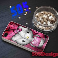 Pink Hello Kitty for iPhone 4/4S, iPhone 5/5S, iPhone 5C and Samsung Galaxy S3, S4