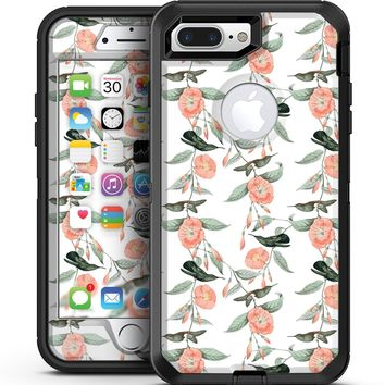 The Coral Flower and Hummingbird All Over Print - iPhone 7 Plus/8 Plus OtterBox Case & Skin Kits