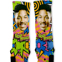 Fresh Prince Custom Nike Elite Socks