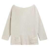 Cotton Boxy Rib Knit Chinti and Parker