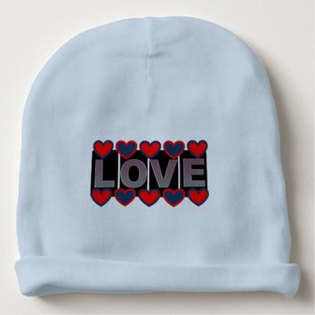 Love Baby Cotton Beanie