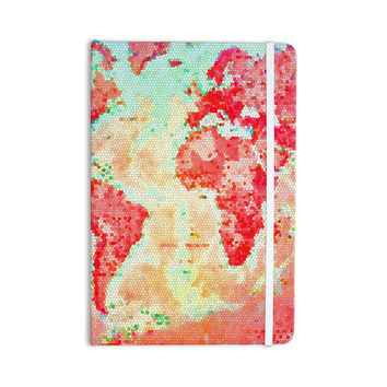 "Alison Coxon ""Oh The Places We'll Go"" World Map Everything Notebook"
