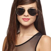 Nautical Get an A for Aviator Sunglasses by ModCloth
