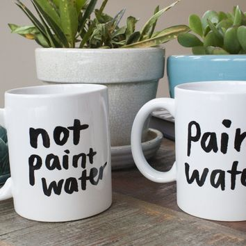 Paint Water Mug Set