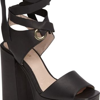 Shellys London Dara Wraparound Platform Sandal (Women) | Nordstrom