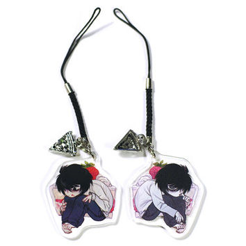 "2"" Two-Sided Acrylic Charm: Death Note"