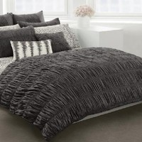 DKNY Willow TWIN Duvet Cover, Slate Grey