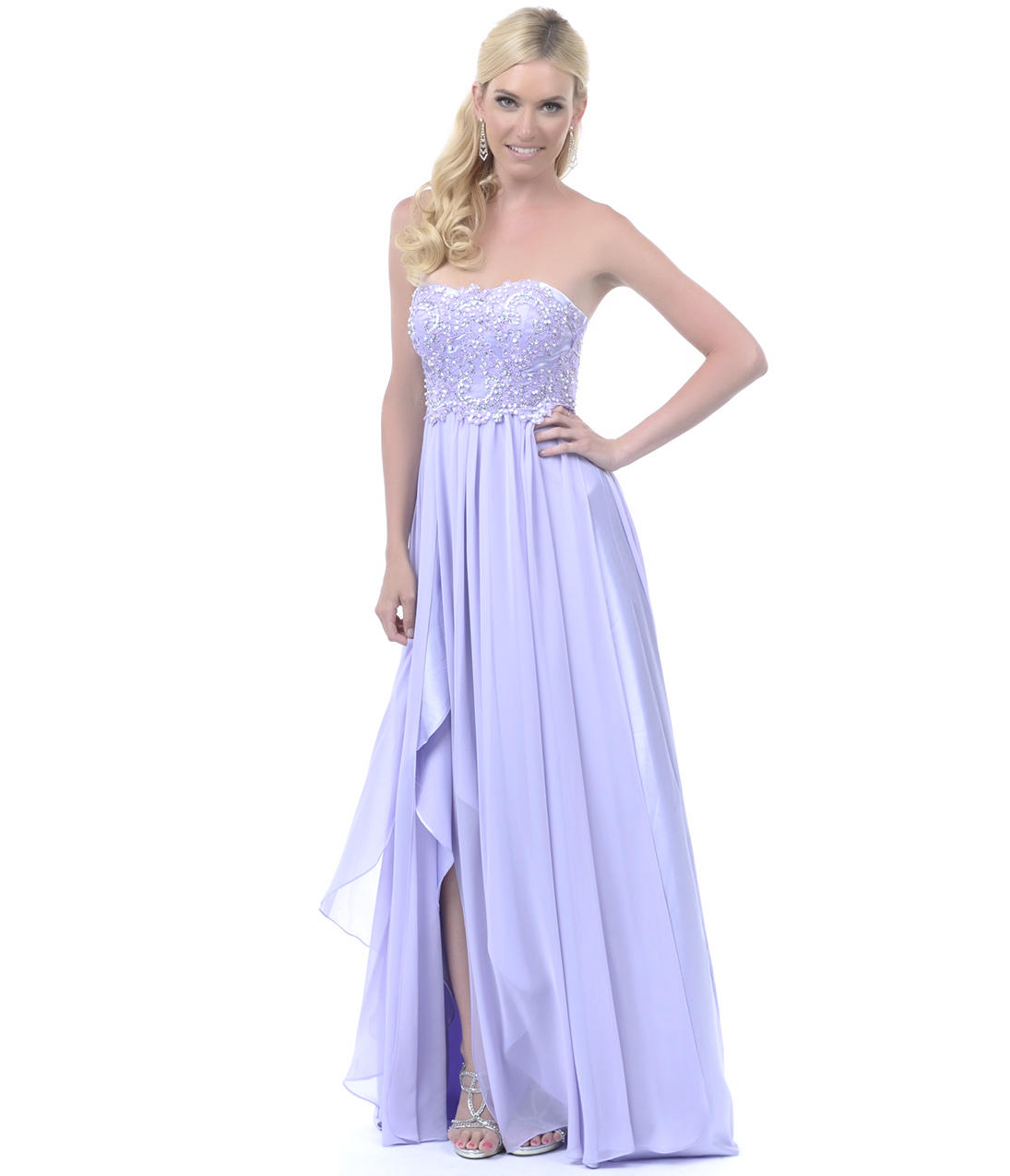 2013 Homecoming Dresses - Lilac Sequined from Unique Vintage
