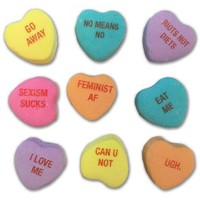 Feminist Candy Hearts