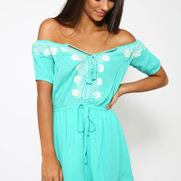 Glasshouse Playsuit - Green