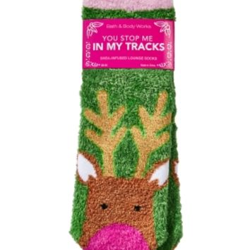 Shea-Infused Lounge Socks You Stop Me In My Tracks