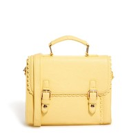 ASOS Small Satchel Bag With Scalloped Edge