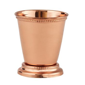 Copper-plated 3.75oz. Mint Julep Cup
