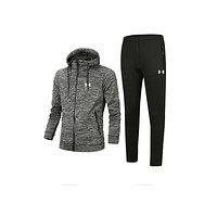 Under Armor new sports and leisure suits Gray