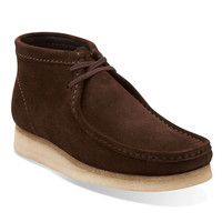 Clarks Wallabee Boot in Brown Suede