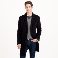 J.Crew Mens Ludlow Topcoat In Wool-Cashmere With Thinsulate