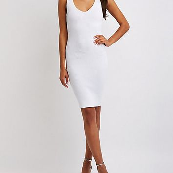 Ribbed Bodycon Dress | Charlotte Russe