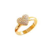 Pavé heart ring - rings - Women's jewelry - J.Crew