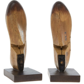 Brown Resin Wood Shoe Bookends 26cm - Gifts for the Gentleman - Christmas Gifts - Christmas - TK Maxx