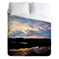 Bird Wanna Whistle Sunset Duvet Cover