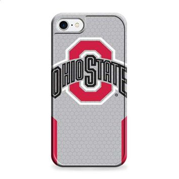Ohio State logo honeycomb with red iPhone 6 | iPhone 6S case
