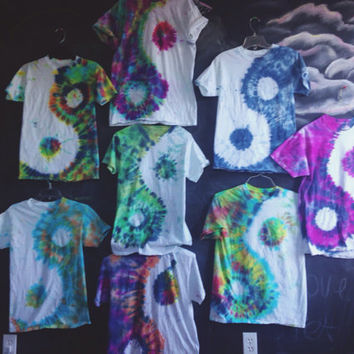 READY TO SHIP! Yin yang tie dye