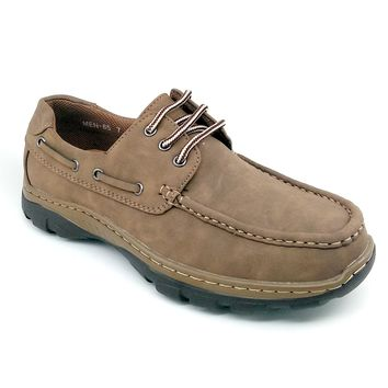 Men's Camel Casual Shoes with Laces