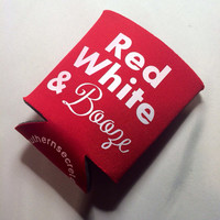 Red White & Booze Koozie